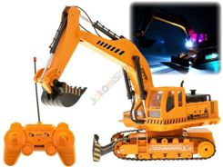 A large excavator r / c controlled by the pilot lights RC0313