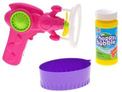 Gun soap bubbles + liquid bubbles ZA1455