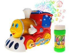 Interactive Locomotive with soap bubbles ZA1010