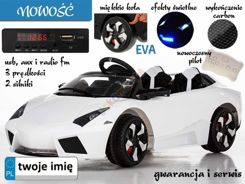 3 cross-country LAMBO WHITE soft wheels PA0121