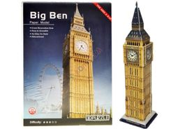 3D Puzzle Big Ben clock 26 elements ZA1281