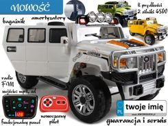Auto Hummer off-road vehicle on a remote 2sil. PA0114
