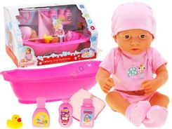 Baby dolls + bath + potty + accessories ZA1408