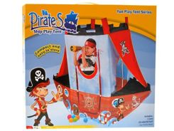 Big Tent BOAT PIRATE + 24 colored balls ZA1072