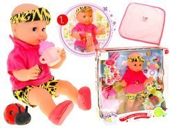 Big doll Sensory English speaking doll ZA1402
