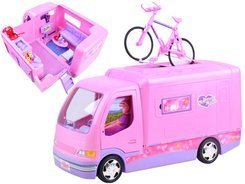 CAR for dolls Camper + bike ZA0164