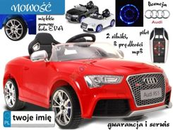 Car AUDI RS5 Rubber illuminated wheel MP3 PA0107