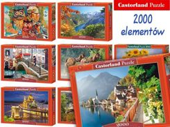 Castorland Puzzle 2000 elements. wonderful paintings CA0019