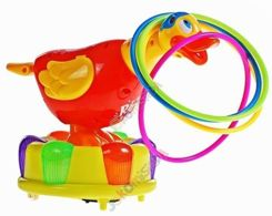 Cheerful Duck Ring Ring Fun Wheel ZA0016