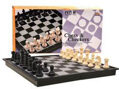 Chess Checkers Magnetic Travel 2in1 GR0141