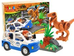 Colored blocks DINOSAUR Raptor 28 items ZA1590