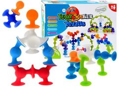 Colorful silicone pads Suction cups sticks ZA1457