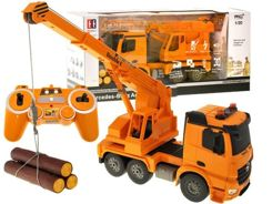 Construction crane Mercedes Benz Arocs + remote control RC0277