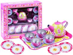 Cups of tea flowers set ZA1634