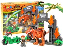 Dinosaur Park Blocks Dinosaur 68-element ZA1588