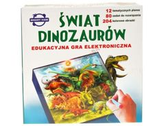 EDUCATIONAL GAME WORLD DINOSAURS GR0125