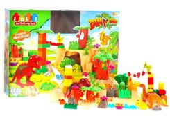 Educational blocks JDLT DINOSAURS FOR 0110 mega kit