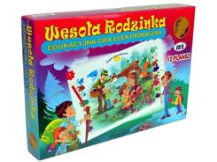 Electronic educational game Cheerful Rodzinka G0186