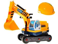 Excavator with helmet ZA0292