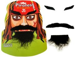 Eyebrows Moustache beard BEARD FOR THE PIRATE ZA0683