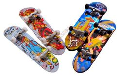 Fingerboard Mini SKATEBOARD 4 pcs + accessories ZA0134