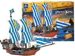 HOLY SHIP PIRATES BLOCKS 608 pcs. ZA0736