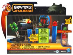 Hasbro ANGRY BIRDS STAR WARS EMPEROR ZA0968 THRONE