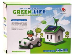 House + SOLAR creative toy car set ZA0930