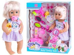Interactive baby dolls drink pee + accessories ZA1401