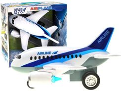 Large racer PLANE for baby sound ZA1640