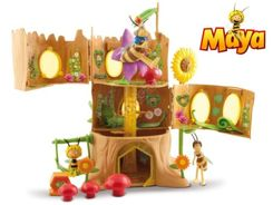 Maya the Bee big house HIVE + figures ZA1885