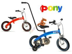 PONY 6in1 Bike 12'' + stick + MASCOT RO0078 CZ