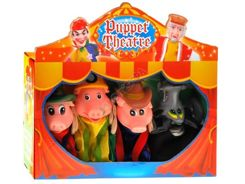 Pigs fairy puppets puppet theater 4 ZA0830