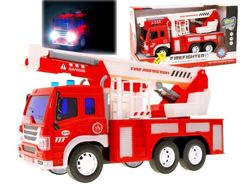 Red Fire brigade car with sound ZA1308