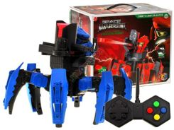 Robot r / c Warrior shoots soft DISK RC0274