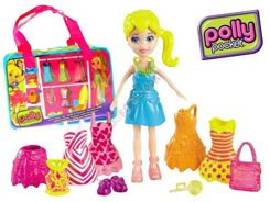 Set Polly Pocket doll clothes in a bag ZA1890