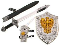 Set for Knight sword shield with eagle ZA1376