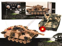TANK fighting r / c Fires rides lit RC0202