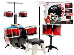 The large drums drums 6 + plate + high chair IN0071
