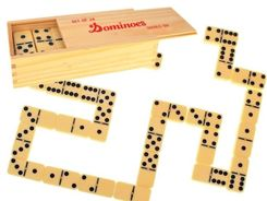 The new DOMINO GAME wooden box GR0238