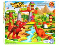 Toys colorful DINOSAURS large set 90szt ZA1130
