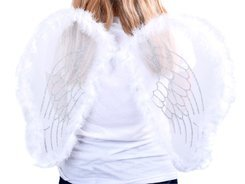 WHITE ANGEL WINGS ZA0571