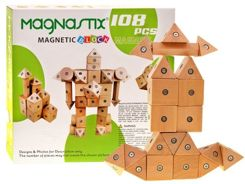 Wooden blocks Magnastix 108 magnets HIT ZA0586