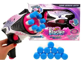 Air Blaster GUN for girls 10 rounds ZA0925