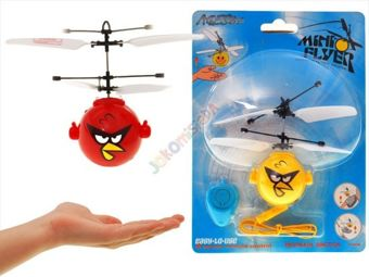 Angry bird flying Copter controlled by hand RC0217