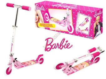 Barbie's two-wheeled scooter folding SP0306