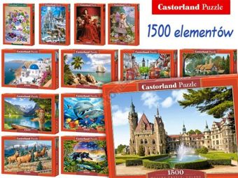 Beautiful Castorland Puzzle 1500 elements CA0018xi.