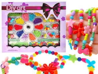 Different Beads star flowers bows ZA1710