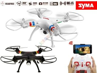 Dron Syma X8W 2.4GHz WIFI PREVIEW LIVE RC0329