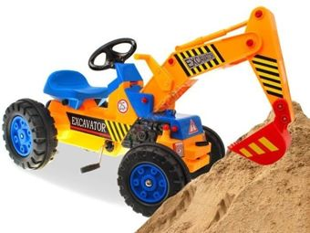 EXCAVATOR FOR LITTLE pedal BUILDER RO90
